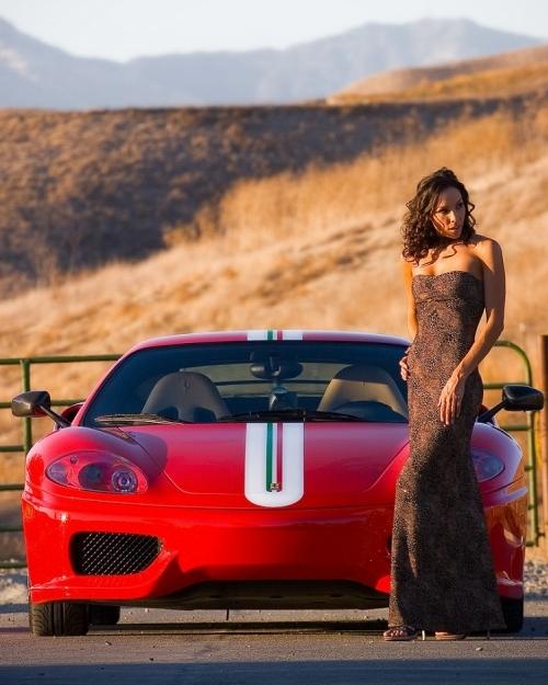 Ferrari Challenge Stradale Beautiful Car Beautiful Girl