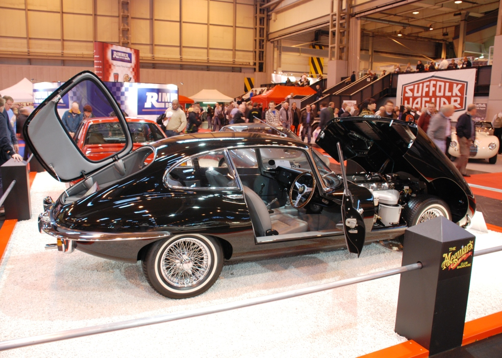 Pictures From The 2011 Footman James Classic Motor Show