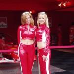 Hot Marlboro girls and Ferrari F1