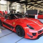 599XX-Evoluzione-and-FXX-in-pit-garages