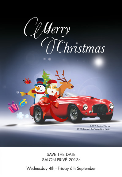 Merry Christmas from the Salon Privé and My Car Heaven teams. | My ...