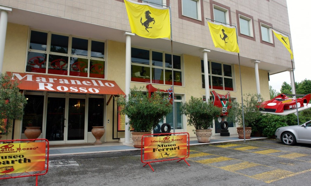 My bucket list includes a trip to italy to visit the Maranello