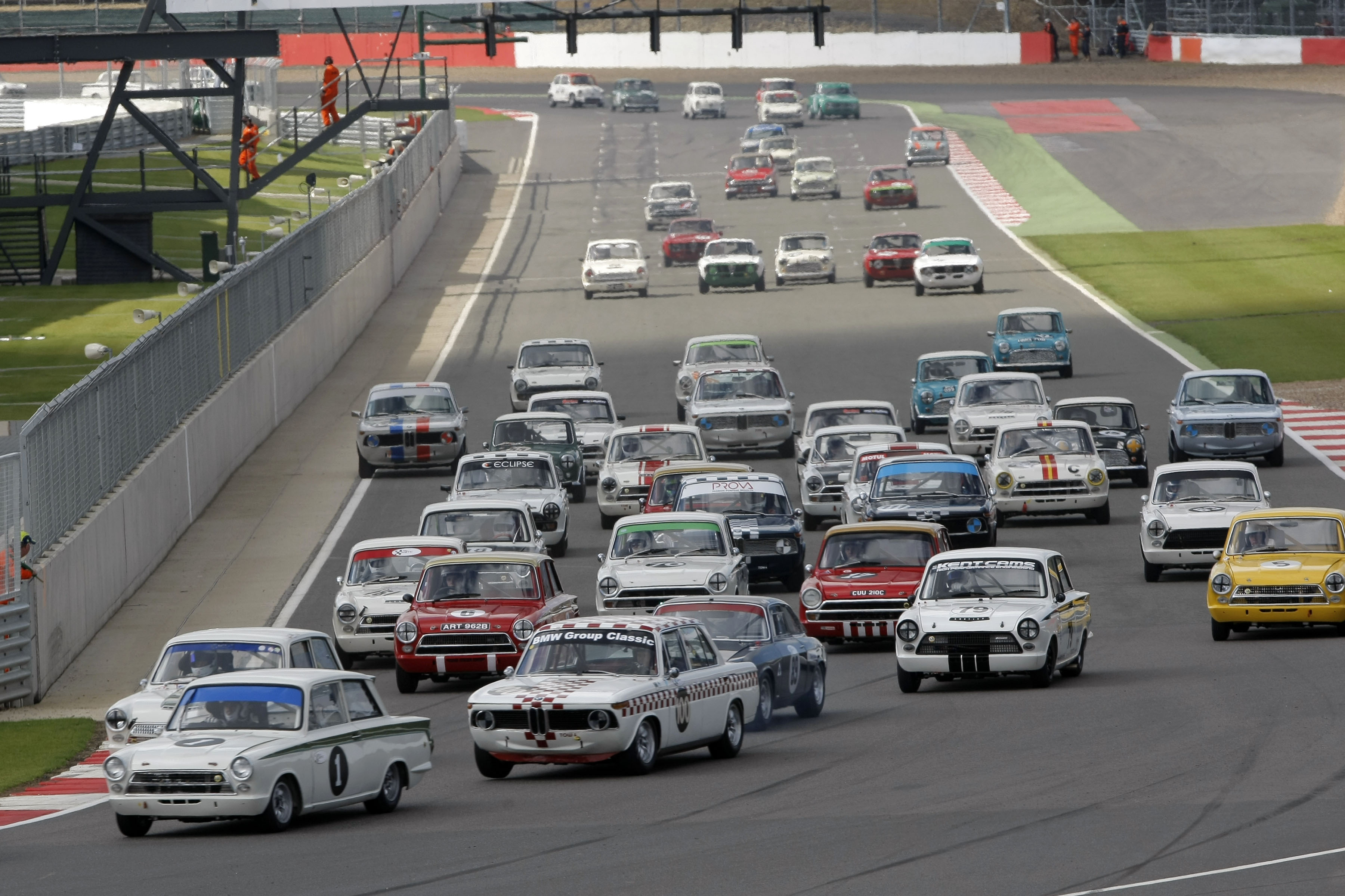 The Biggest Touring Car Revival Yet At The Silverstone