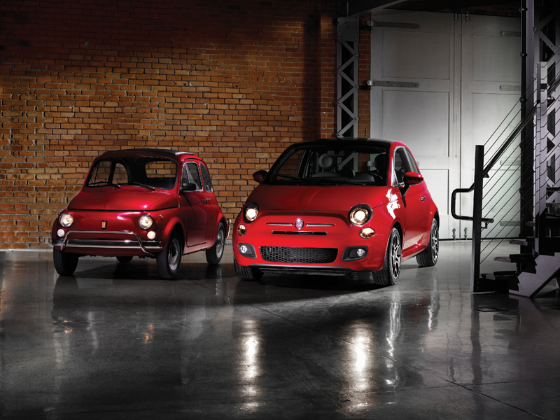 Old Fiat 500 Or New Fiat 500 My Car Heaven