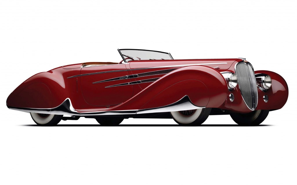 1939 Delahaye Type 165 Figoni et Falaschi