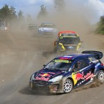 Plenty of noise, dust and sideways action at Lydden