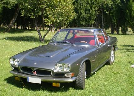 1969 Maserati Mexico Prototype by Frua.