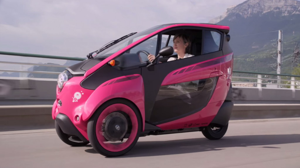 Toyota I Road To Quot Change The Amazement Of Today Into The
