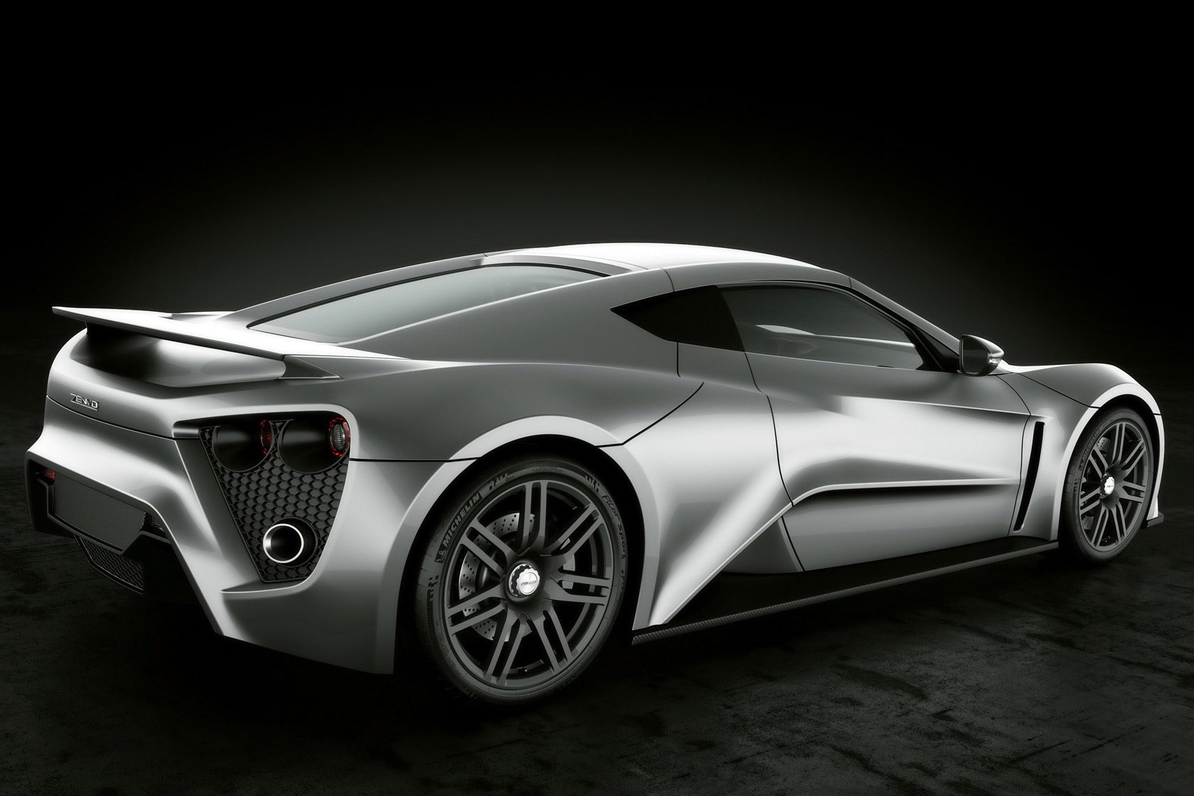 Darth Vader Would Drive This: The Zenvo ST1