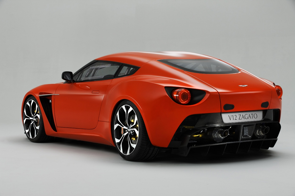 New Aston Martin Zagato Concept Car My Car Heaven