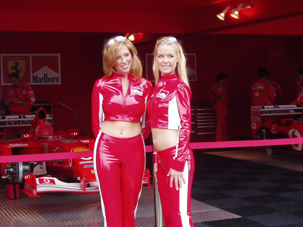 A Few Formula 1 Pit Babe Pictures From The Vital F1 Forum
