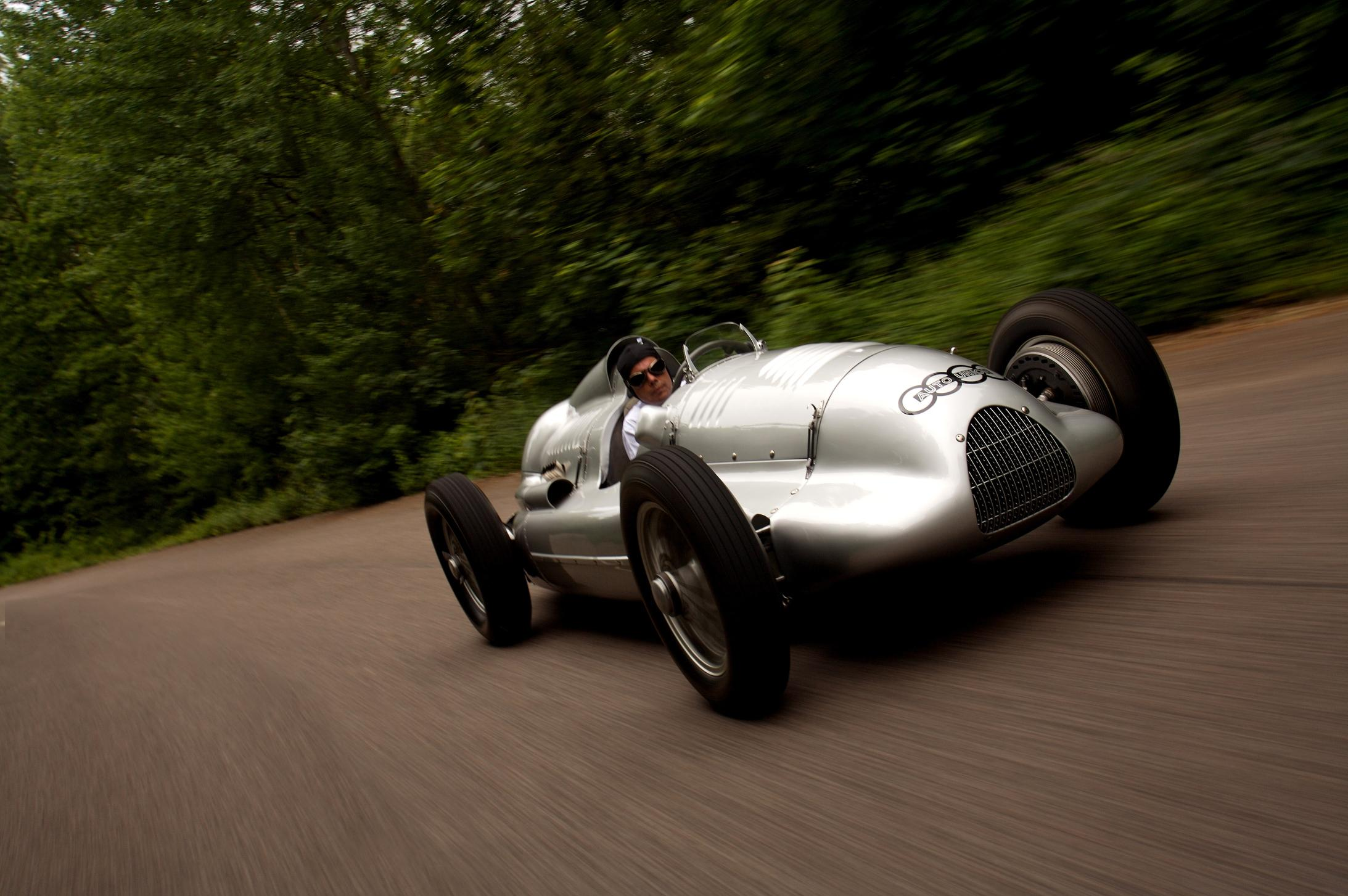 The 1939 Two Stage Supercharged V12 Auto Union D Type To