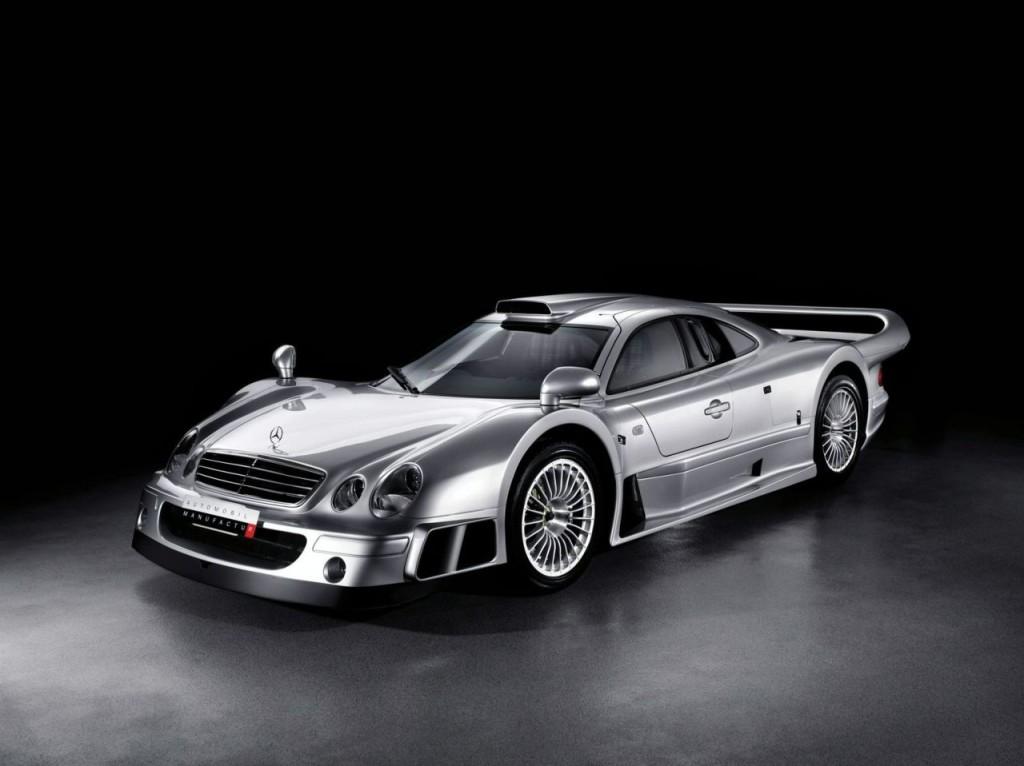 Mercedes Clk Race Car