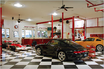 Now that's what I call a beautiful car garage! Part 12 ...