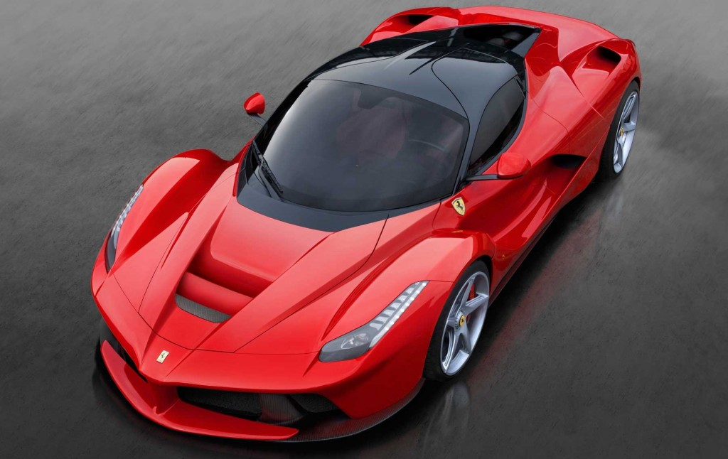 Ferrari-LaFerrari-front-side-view