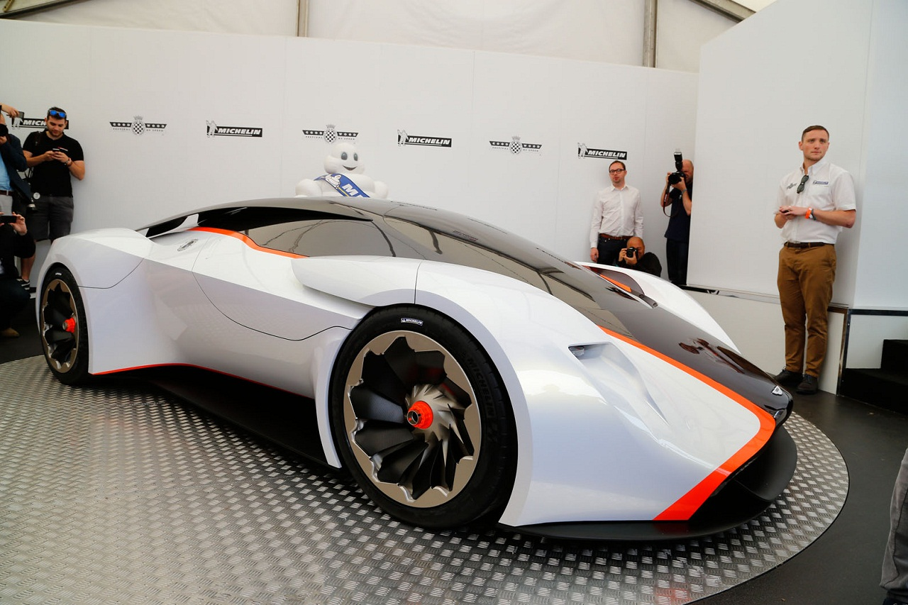 Aston Martin Dp 100 Vision Grand Turismo Front Side My