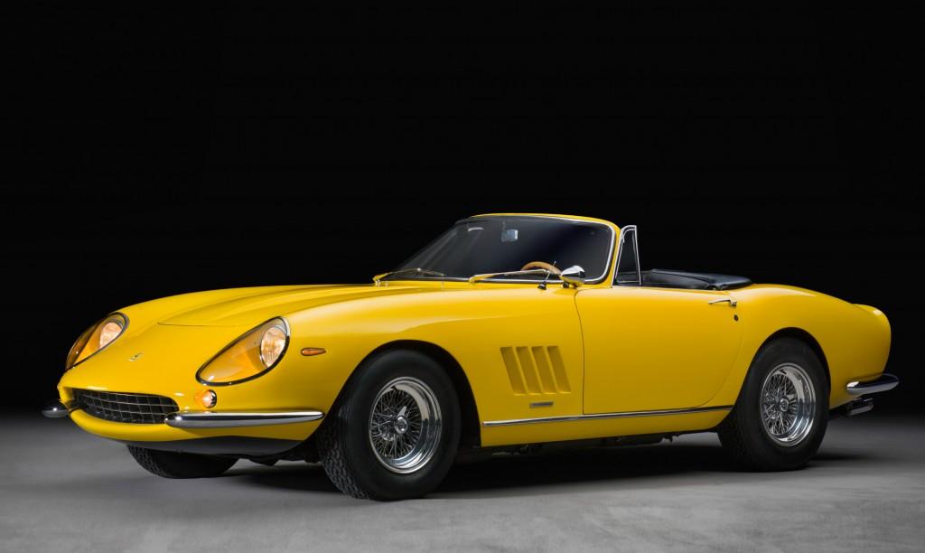 1967 Ferrari 275 GTB4 NART Spider