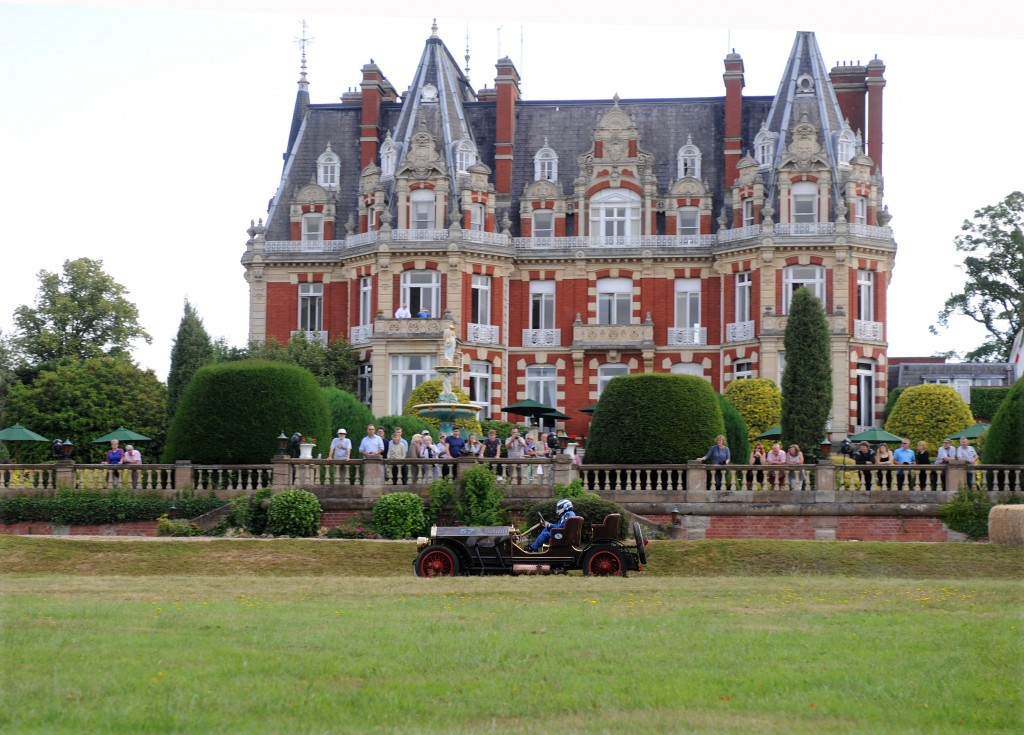 Metallurgique Maybach Special at the Chateau Impney Hill Climb