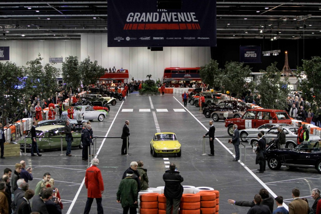 London Classic Car Show Grand Avenue