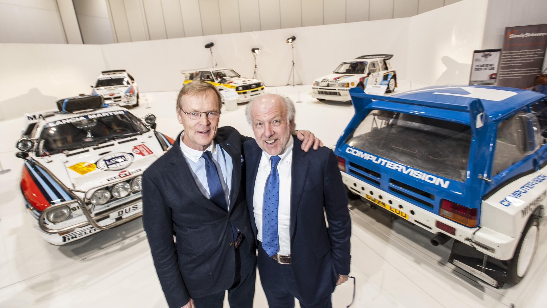 ari vatanen and david richards at the group b rally displa my car heaven. Black Bedroom Furniture Sets. Home Design Ideas