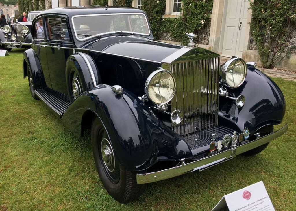 Rolls-Royce Phantom III Freestone & Webb Sports Saloon