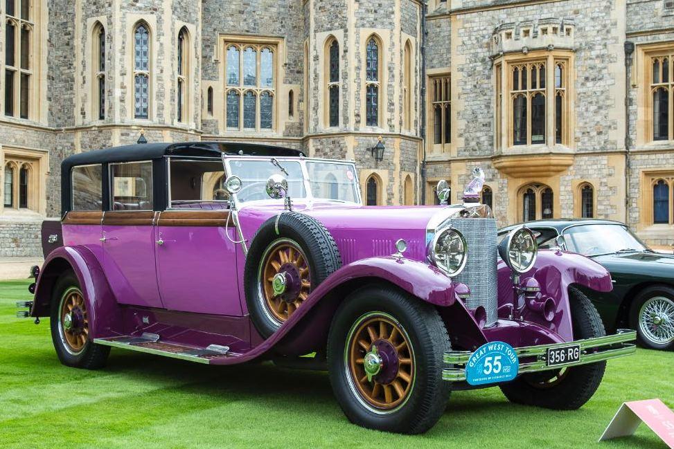 1928 Mercedes-Benz 630 Saoutchik Stadt Coupe