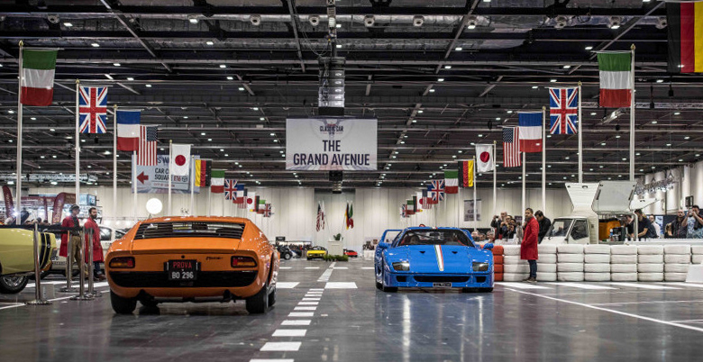 Win A Pair Of Tickets To The London Classic Car Show My Car - London classic car show