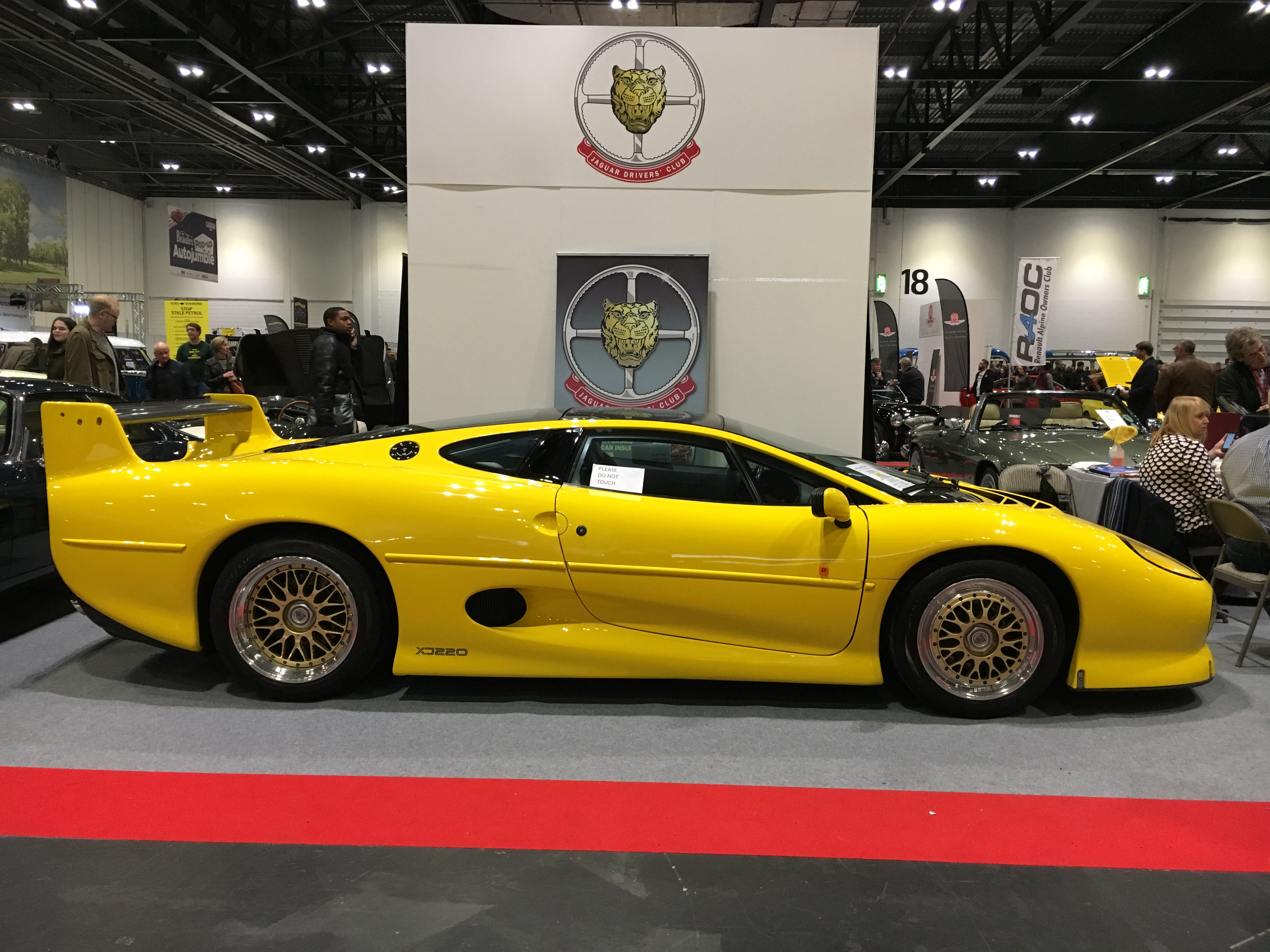 Jaguar Xj220 For Sale >> Our Top 10 cars at the 2017 London Classic Car Show | My ...